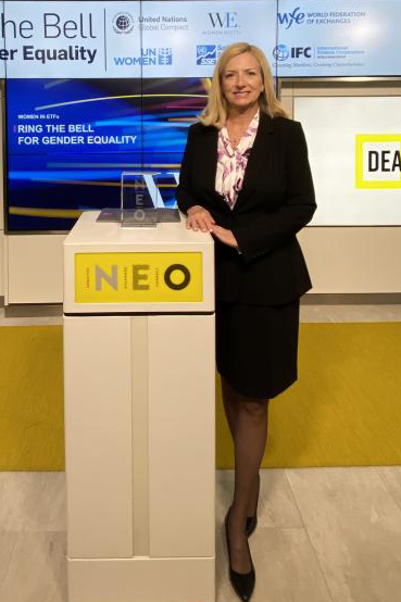 lisa langely neo podium